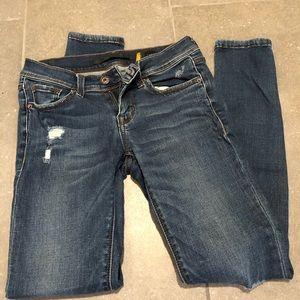 SP Low Rise Ripped Jeans